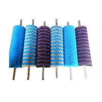 China Glass Washing Machine Cylindrial Brush Roller Nylon Cleaning Brush Rollers on sale
