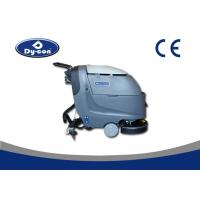 Warehouse Battery Powered Floor Scrubber 18In / 20In Brush Medium Size for sale