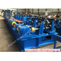 Heavy Gauge Steel Frame Roll Forming Machine 5mm Thickness With Gearbox Manufactures