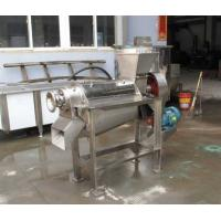China full stainless steel screw fruit juice extracting machine on sale