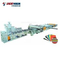 China Corflute Correx Sheet Plate Extrusion Line PP PE PC Hollow Board Automatic on sale