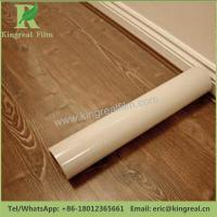 0.03mm-0.20mm Thickness Clear Transparent Self Adhesive Hardwood Floor Protection Film Manufactures