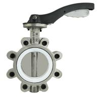 Stainless steel SS 304/SS316 lug type butterfly valve with Lever/Worm Gear BKVALVE Manufactures