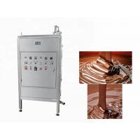 China 250L Continuous Chocolate Bar Production Line  Chocolate Tempering Equipment on sale