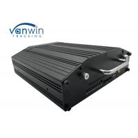 4G GPS WIFI 720P VGA Mobile Cctv Dvr 4 Cameras Monitoring With 2 Tera Hard Disk Manufactures