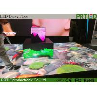 Waterproof Portable LED Dance Floor P4.81 Interactive LED Floor For Wedding Events Manufactures