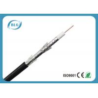 Tri Shield Digital Flexible Coaxial Cable For TV Foam Polyethylene Insulation Manufactures