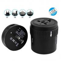 All In One Extension USB Power Adapter Socket , Universal AC DC Power Switching Adapter Manufactures