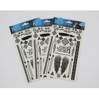 Quality Head card packaging for temporary tattoo for sale