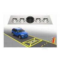 Durable Portable Explosive Detector Under Vehicle Inspection System With Car Plate Recognition Manufactures