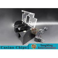 Smart Electric Battery Operated Card Shuffler , Casino Grade Card Shuffler  Manufactures