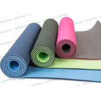 Buy cheap Skidless Eco Friendly Tpe Yoga Mat Roll For Hot Yoga Workout Routine from wholesalers