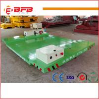 Heavy duty electric Industrial Usage Motorized Transfer Cart china factory Manufactures