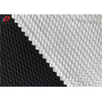 China Bullet Weft Knitted Polyester Spandex Fabric Jacquard Stretch Garment Fabric on sale