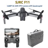 wholesale  SJRC F11 GPS Drone with 5G Wifi FPV 1080P Camera Gesture Control Brushless Quadcopter 25mins Flight Time Fold Manufactures