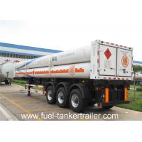 Quality 8 , 9 , 10 , 11 , 12 Tubes gas CNG Tank Trailer with 25Mpa 25.02 CBM for sale