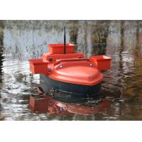 RC model shuttle bait boat , ABS engineering plastic radio controlled bait boat Manufactures