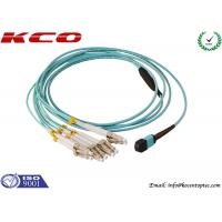 Single Mode MPO MTP Patch Cord 8 Cores LC 10G OM3 Patch Cord Manufactures