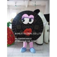 oreo cookie mascot costume/customized fur product replicated mascot costume Manufactures