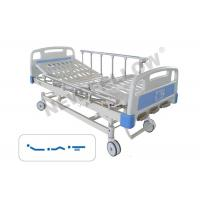 Manual Rotating Bariatric Medical Hospital Bed with wheels / Center Control Brake Manufactures