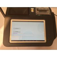 China Smart Fingerprint Authentication Wireless POS Terminal with Build - in Camera wholesale