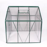 4x8FT aluminum greenhouse with only one side Manufactures