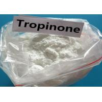 Buy cheap Factory 99% Purity Pharmaceutical Intermediates Tropinone Powder CAS 532-24-1 from wholesalers