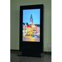 China Commercial Multimedia 2500 NITS Outdoor LCD Digital Signage on sale