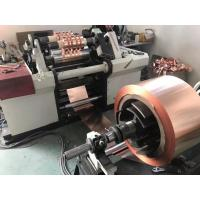 China high speed copper foil slitting machine metal foil slitting line slitting machine rewinding on sale