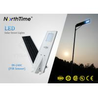China PIR Sensor Smart Solar Street Light All In One , Solar Powered LED Street Light With Camera on sale