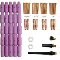 Welding Gun Parts Tig Consumables Kits 58PK High Durability For WP 17 18 26 Torch Manufactures