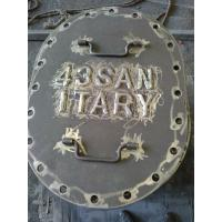 Oval Flat - Mounted Boat Deck Hatch Covers Marine Boat Hatch Parts For Ships Manufactures
