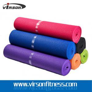 China Yoga mat custom printed unique PVC yoga mats eco friendly fitness yoga mat on sale