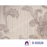 Simple But Elegant Silver PVC Decorative Film With Printing Environmental Solvent Ink Manufactures
