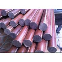 Good Insulation Cotton / Paper Phenolic Rod Smooth Length 1 - 3m Manufactures
