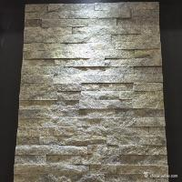 Green Color Quartzite Cultured Stone Mini Panel For Wall Cladding Decoration Manufactures