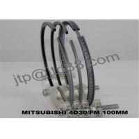 Car Engine Rings 4D30 Engine Piston Rings Replacement With Dia 100mm Manufactures
