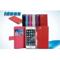 Flip Apple Cell Phone Leather Cases / iPhone Mini Protective Covers Anti Scratch Manufactures