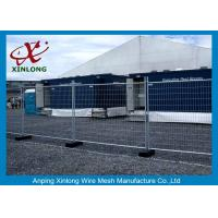 Flexible Green Temporary Fencing Panels / Temporary Security Fence Panels for sale