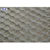 Hexagonal Stone Gabion Wall Cages / Wire Basket Rock Retaining Wall Manufactures