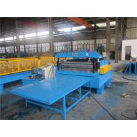 China Automatic Wire Cut To Length Machine 0.3-1.5mm Thickness 20GP Container on sale