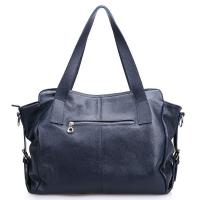 Manufactured Supply Warehouse Womens Black Leather Shoulder Bag Manufactures