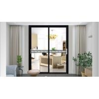 China 35x25 aluminum frame glass door sliding door commercial glass doors aluminum sliding door new style on sale