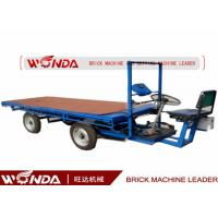 Electric Green Brick Cart without Board in Clay Brick Plant with natural drying process Manufactures