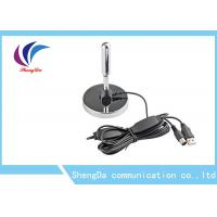 HD UHF VHF TV Antenna , Portable External Digital TV AerialSignal Booster Stainless Steel Manufactures