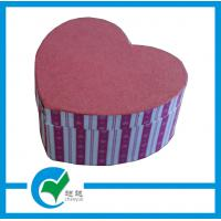 China Personalized  Handmade Heart Shaped Gift Cardboard Jewellery Boxes on sale