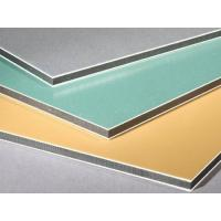 Buy cheap ACP ACM lightweight waterproof decoration wall panel wall cladding aluminium composite panel from wholesalers