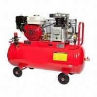 Heavy-duty Air Compressor with Gasoline Engine and 8 to 10 Bar Working Pressure, EPA Gasoline Engine Manufactures
