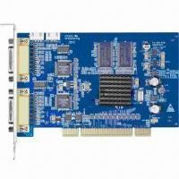 8/16 Channel CIF Compression Card, Supports OSD Manufactures