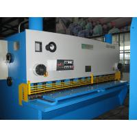 China Electrical Elements Hydraulic Guillotine Shearing Machine Internal Stess for sale